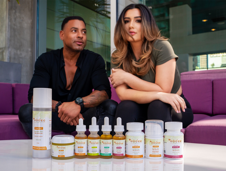 Power Couple Promotes Natural Wellness from Coast to Coast