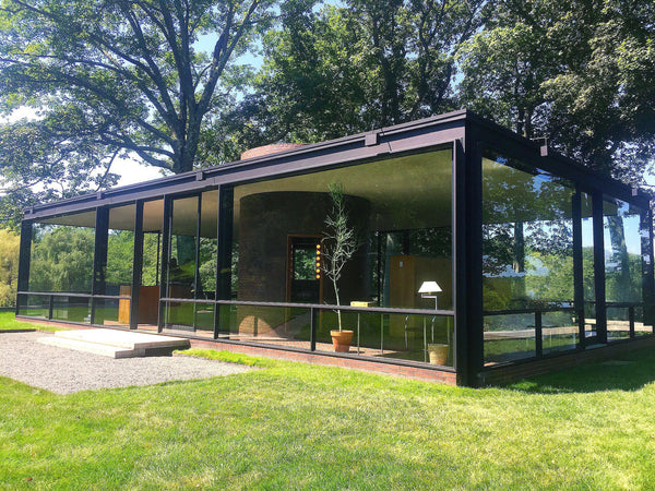 Nature as Theater:  A Visit to Philip Johnson's Glass House