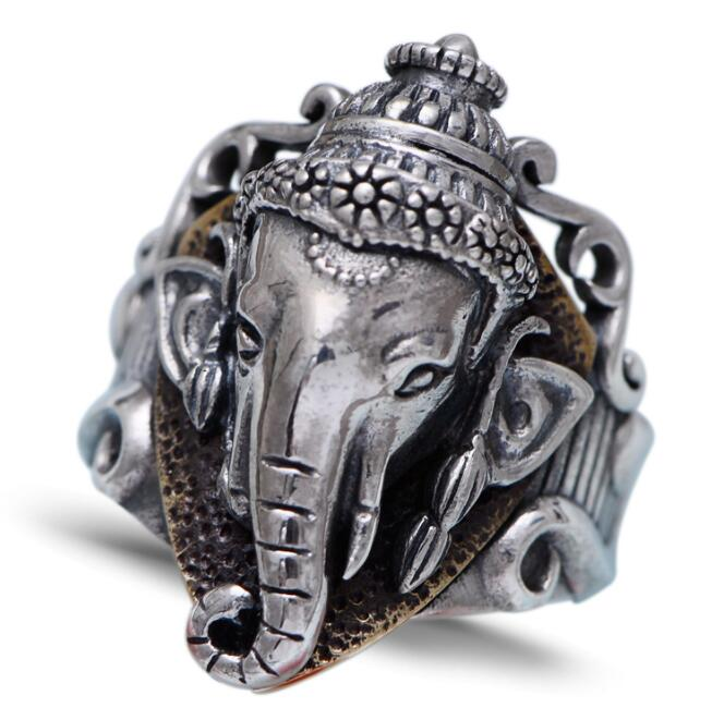 Retro Thai Silver Ring