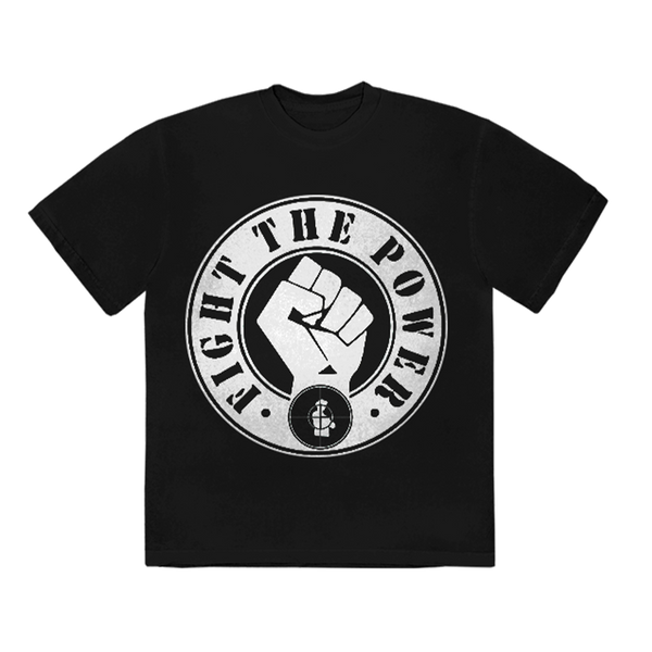 "T-shirt | T-shirt Noir ""Fight the Power II "" Public Enemy"