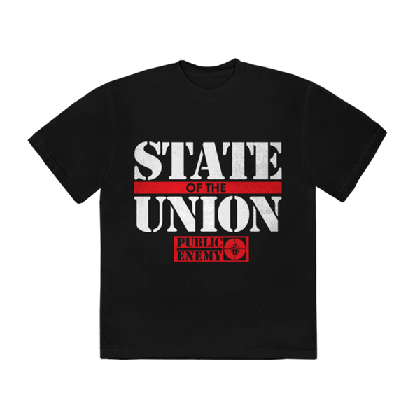 "T-shirt | T-shirt ""State of the Union"" Public Enemy"
