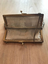 Load image into Gallery viewer, VINTAGE 1950'S GOLD MESH & DIAMANTE EVENING BRIDAL BAG