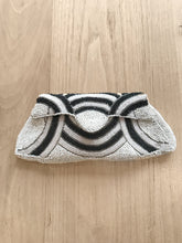 Load image into Gallery viewer, VINTAGE ART DECO 1930's MICRO BEADED BRIDAL CLUTCH BAG