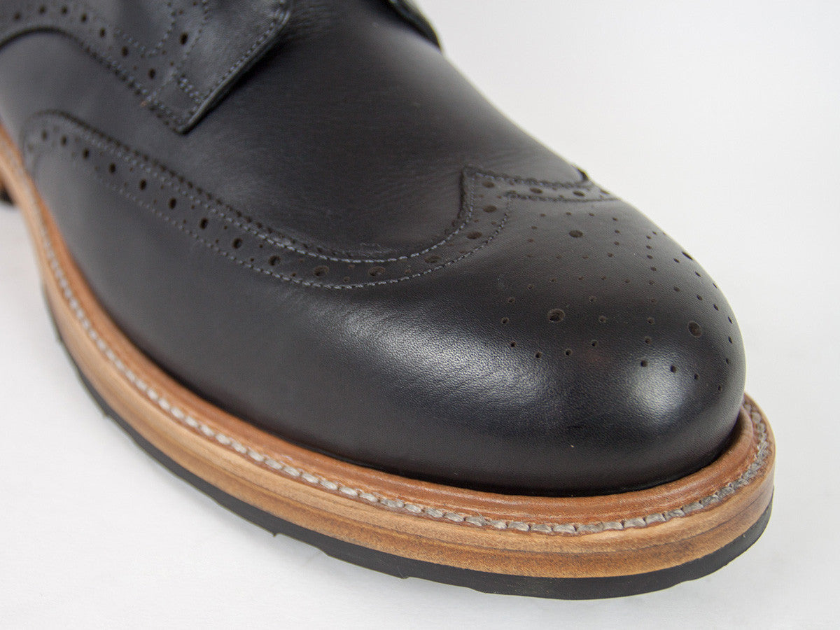 Goodyear Welted Brogue - Black