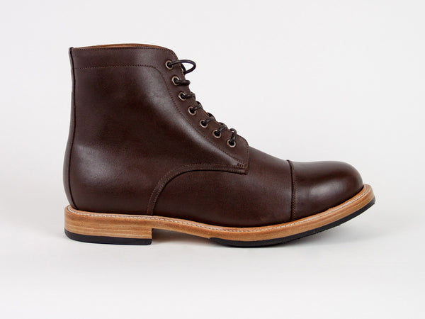 Goodyear Welted Captoe - Dark Brown
