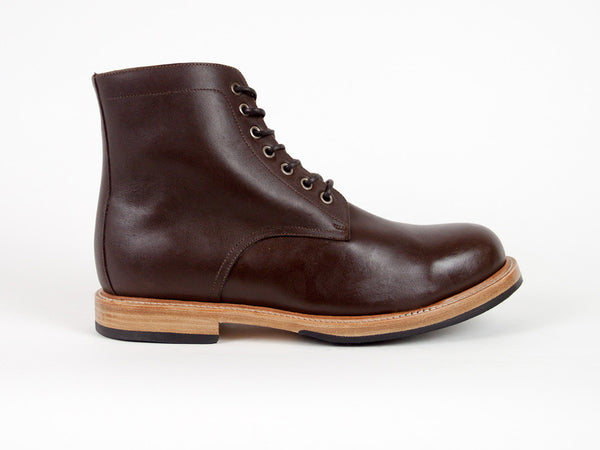 Classic Goodyear Welted Boots - Dark Brown