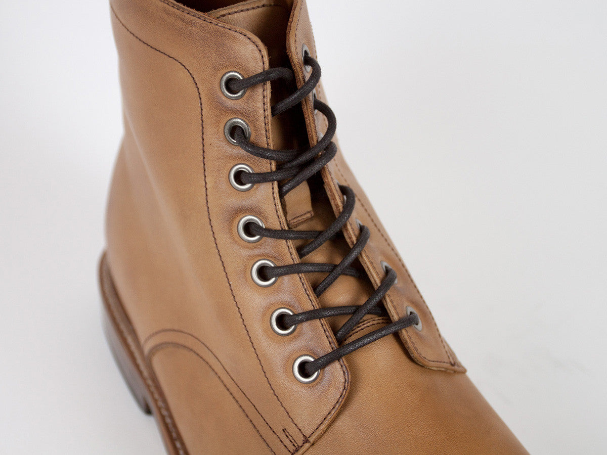 Goodyear Welted Captoe - Light Brown
