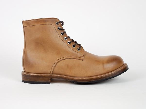 Classic Goodyear Welted Boots - Light Brown