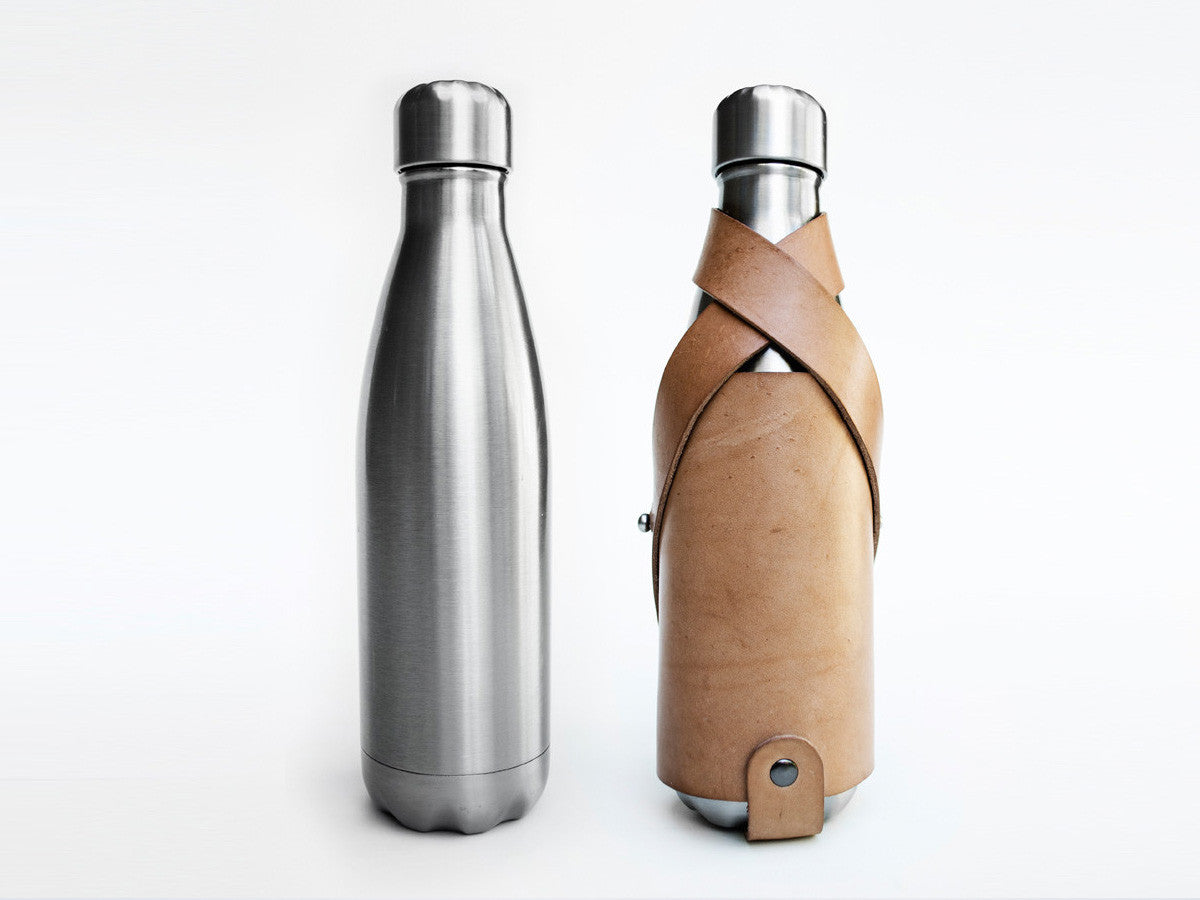Water Bottle (Holder and Stainless Steel Thermos)