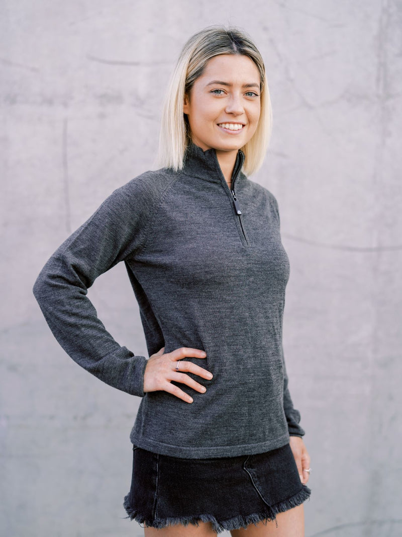 Women's Charcoal Grey Swoolly