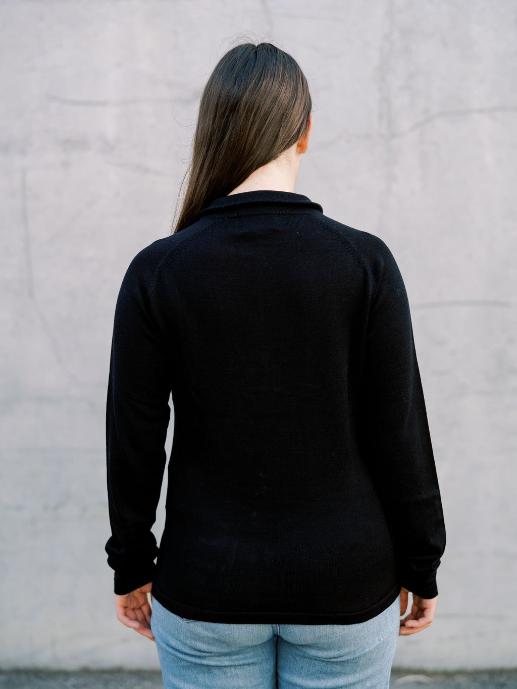Women's Black Swoolly