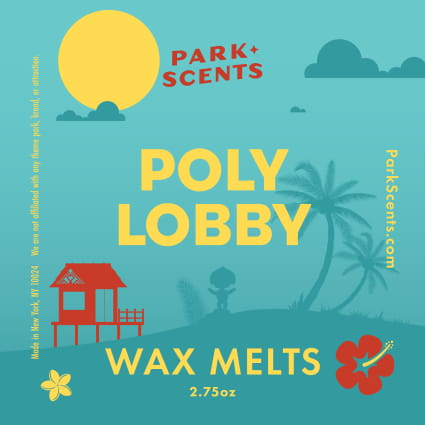 Poly Lobby Wax Melt