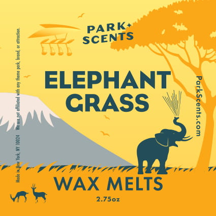 Elephant Grass Wax Melts