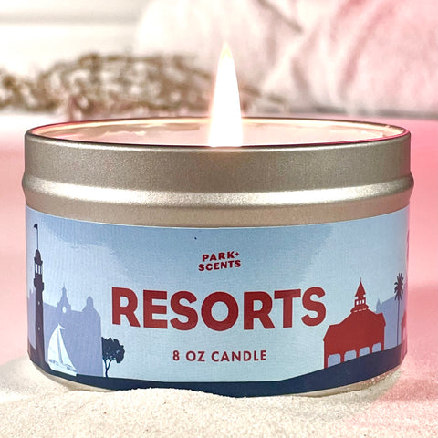Resorts Candle