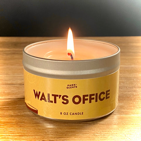 Walt's Office Candle