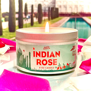 Indian Rose Candle