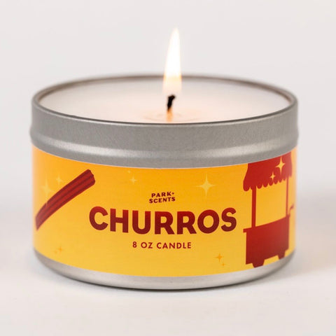 Churros Candle