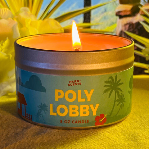 Poly Lobby Candle