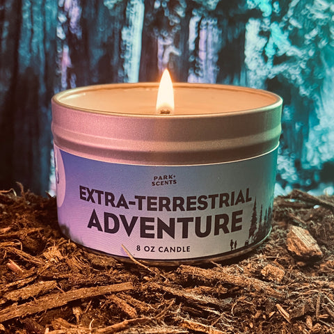 Extra-Terrestrial Adventure Candle