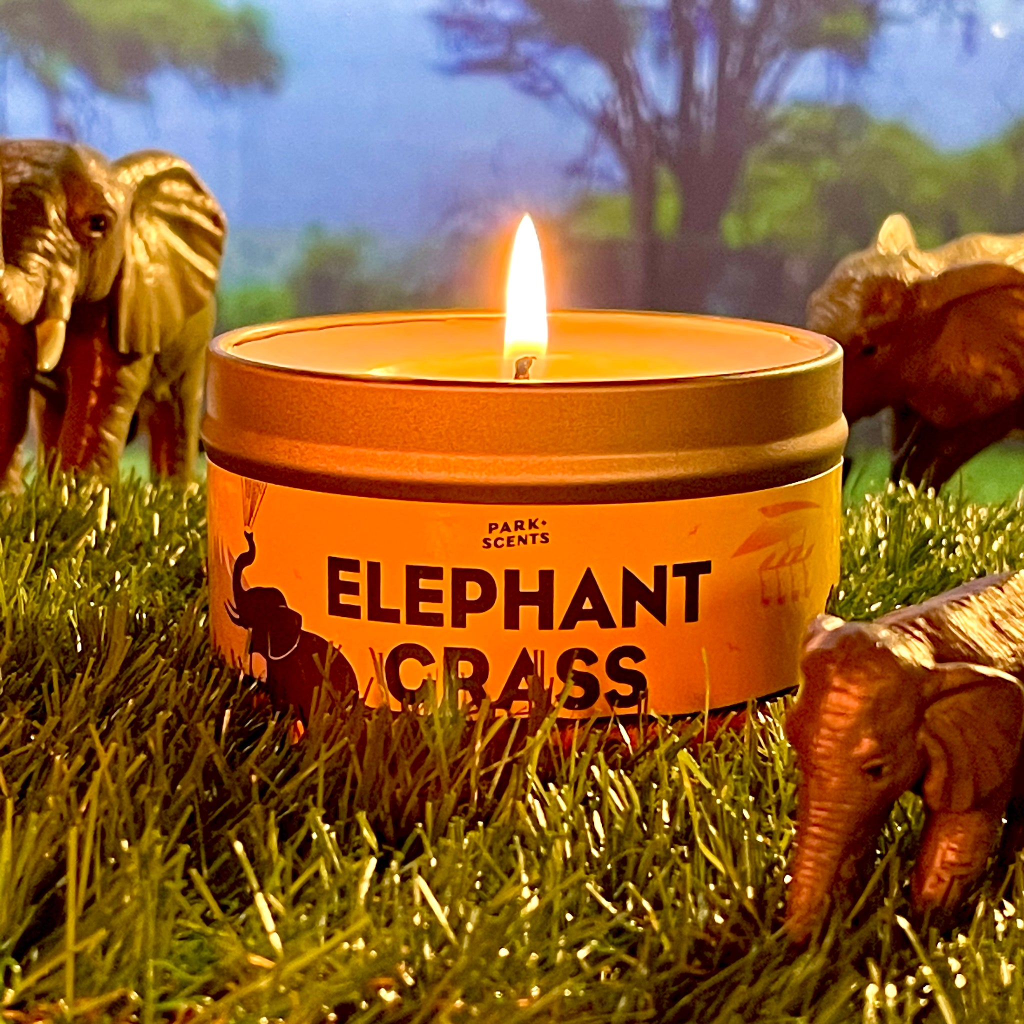 Elephant Grass Candle