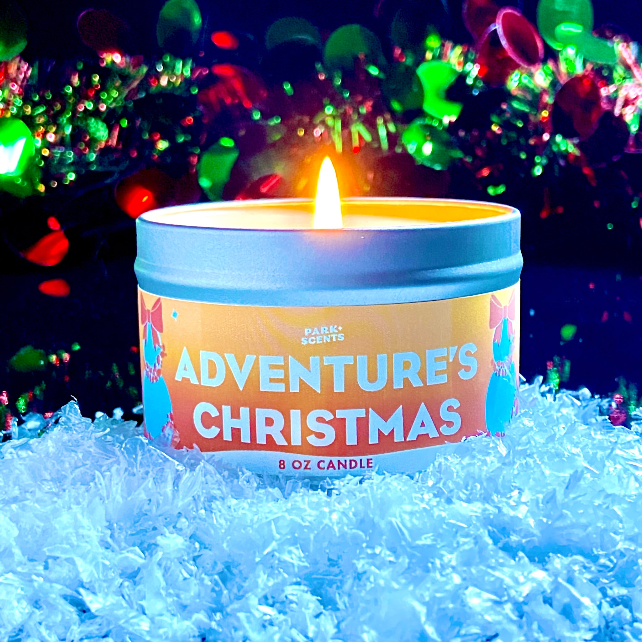 Adventure's Christmas Candle