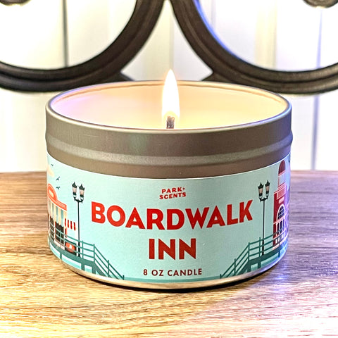 Boardwalk Inn Candle