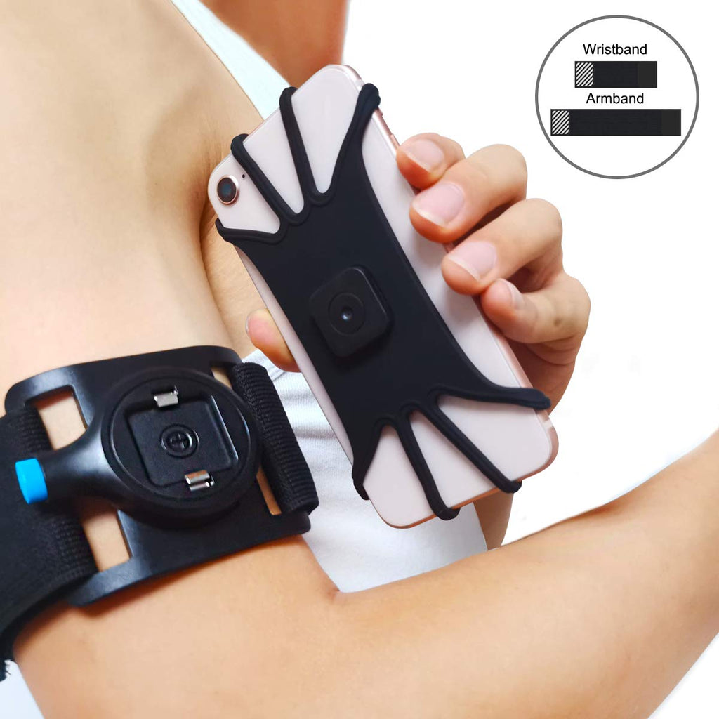 Universal Sports Armband Case for iPhone Xs Max X XR 8 7 Wrist Running Sport Arm Band With Key Holder for 3.5-5.5 inch Phone