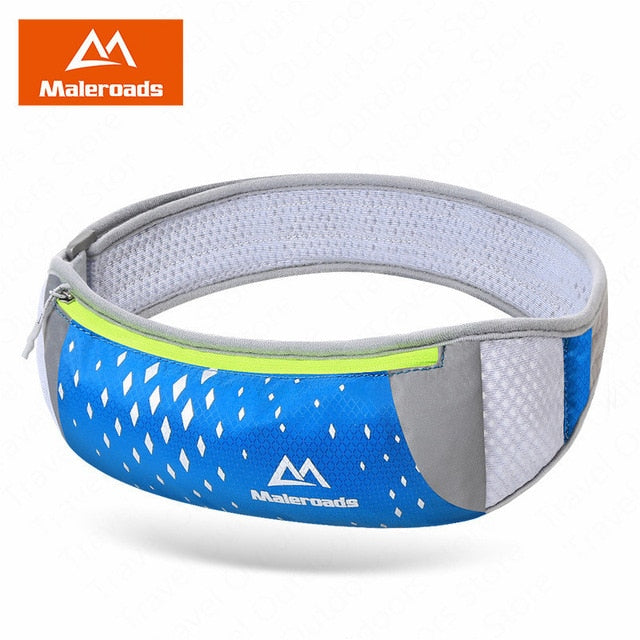 Maleroads Sports Running Waist Bag Running Belt Waist Bag Trail Runing Packs Phone Running Pouch Sports Accessories For Fitness