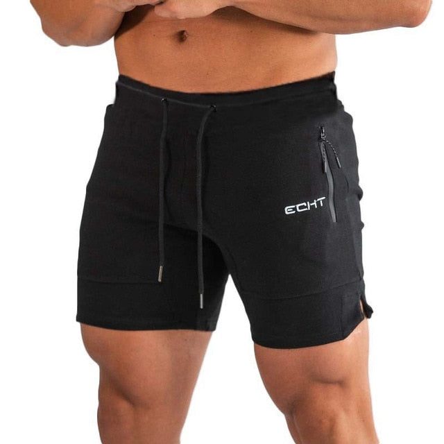 Men Running Sport Shorts Gym Fitness Workout Training Sportswear Male Short Pants Knee Length Beach sports Sweatpants Bottoms
