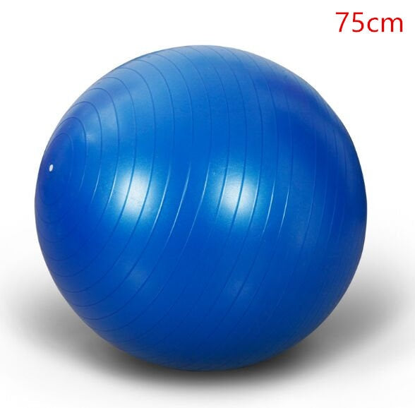 2019  Sports Yoga Balls Bola Pilates Fitness Gym Balance Fitball Exercise Pilates Workout Massage Ball 45cm 55cm 65cm 75cm