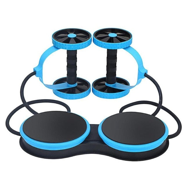 Ab Roller Wheel Abdominal Trainer Wheel Arm Waist Leg Exercise Multifunctional Fitness Equipment Dropshipping
