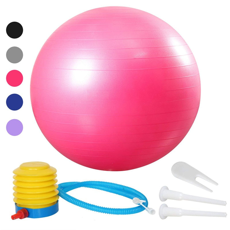 45cm 55cm 65cm 75cm 85cm 95cm Sports Yoga Balls Bola Pilates Fitness Gym Balance Fitball Exercise Pilates Workout Massage Ball
