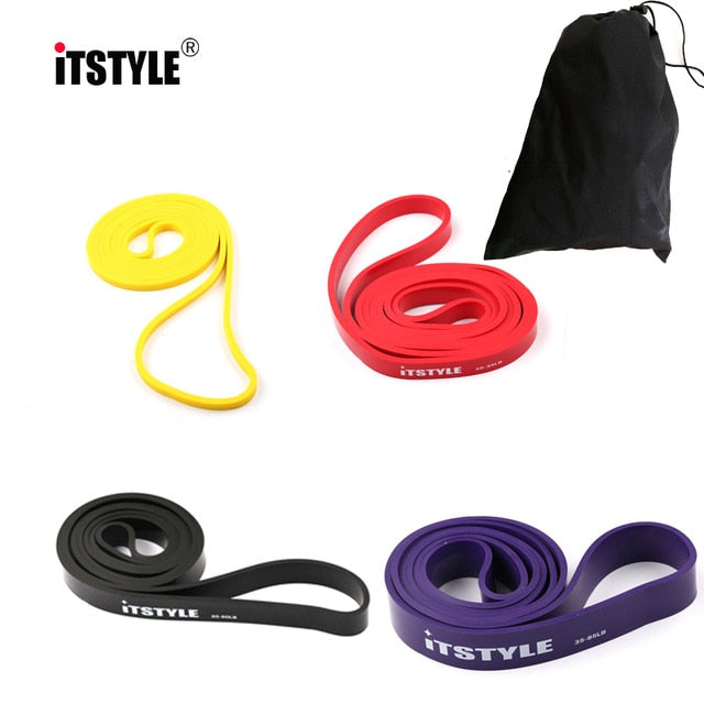 "41"" Resistance Bands 208cm Fitness Rubber Pull Up Crossfit Power latex Expander Hanging Yoga Loop Band"