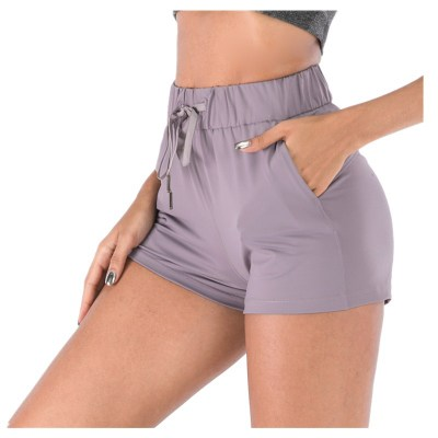 NWT 2020 Running Short buttery soft stretchy Shorts Out Pocket Sports Shorts Tummy Control Workout Running Athletic Yoga Shorts