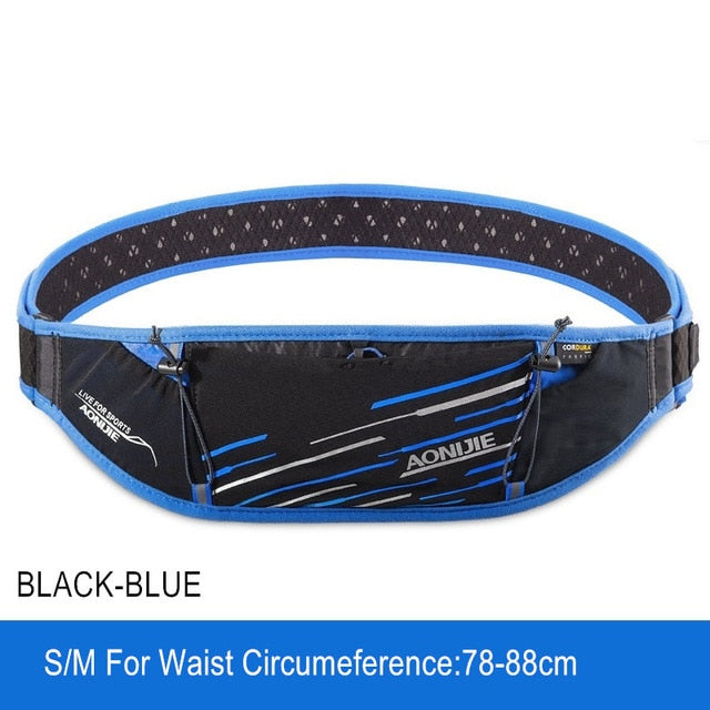 AONIJIE W952 Sport Running Belt Waist Pack Men Women Outdoor Sports Bag Mobile Phone Holder Marathon Bag Trail Running  Jogging