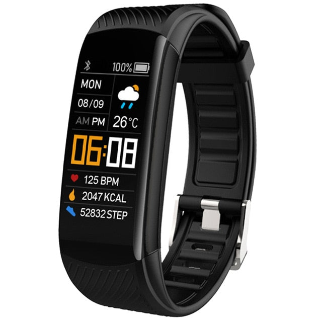Smart Bracelet Watch Blood Pressure Monitor  Fitness Tracker Bracelet Smart Watch Heart Rate Monitor Smart Band Watch Men Women