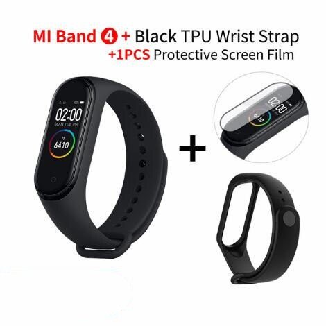 In Stock Original Xiaomi Mi Band 4 Smart Miband 3 Color Screen Bracelet Heart Rate Fitness Music Bluetooth 50M Waterproof Band4