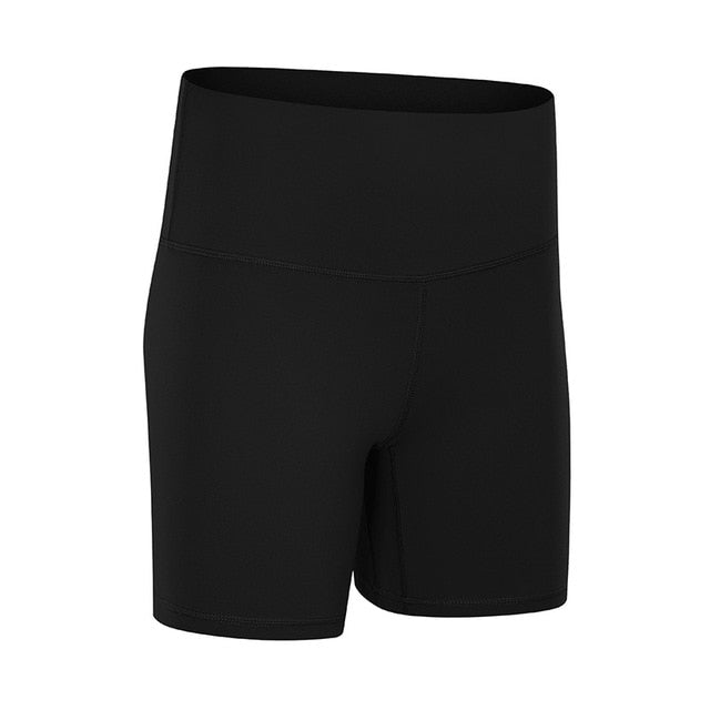 NWT Running Fitness Biker High Waist Shorts Women Butter Soft Stretchy Shorts Sports Workout Leisure Yoga Gym Short
