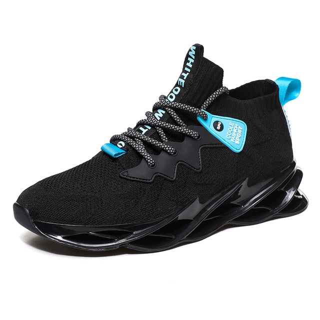 New Outdoor Men Free Running for Men Jogging Walking Sports Shoes High-quality Lace-up Athietic Breathable Blade Sneakers