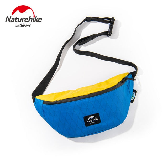 Naturehike XPAC Waterproof Waist Bag Men Women Travel Waist Pack Outdoor Running Camping Belt Storage Bag Ultralight Folding Bag