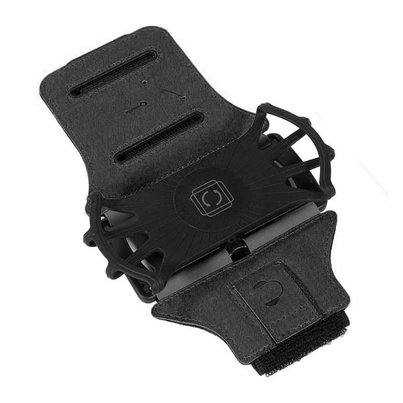 Sports Armband Phone Bracket Holder 360° Rotatable Detachable Running Wrist Stand for 4.0-6.5 Inch Phone