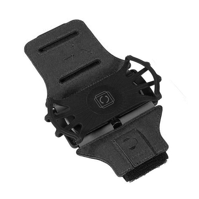 360 Rotatable Detachable Armband Cell Phone Holder for Outdoor Sports Fitness Running JR Deals