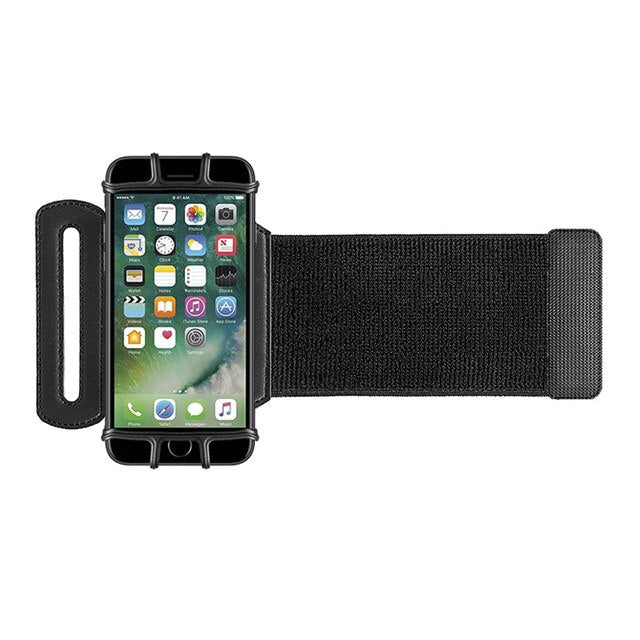 VUP Cell Phone Armband for Workout Biking Walking Adjustable Running Armand with Key Holder JHP-Best