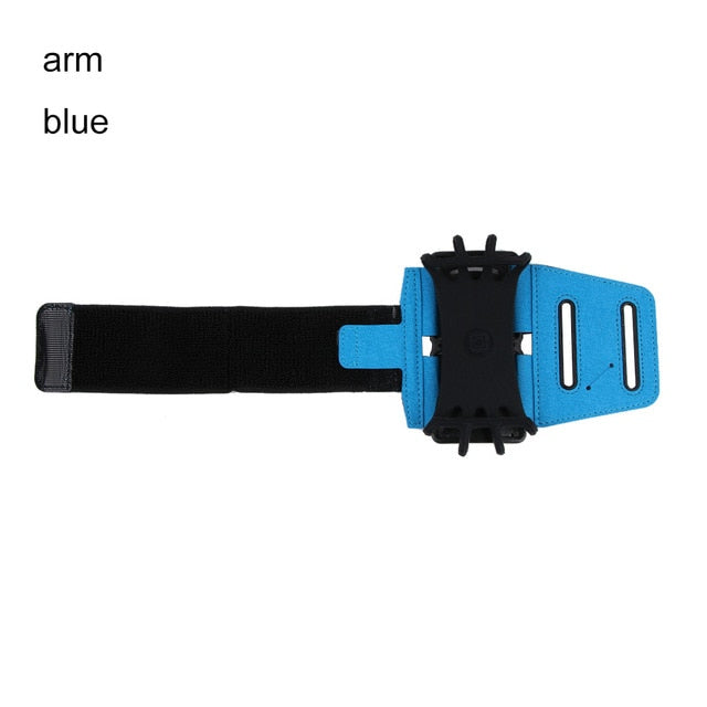 1PC 180 Degree Rotation Sports Gym Running Jogging Armband Wrist Band Holder Phone Case Cover for Mobile Phone Smartphone