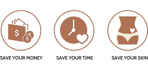 Save yourr money, Save your time, Save your skin - Lumilia Skin Co