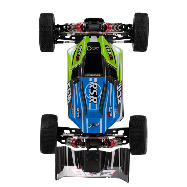 30 mph rc cars green and blue