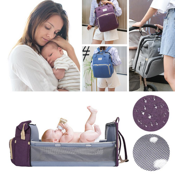 3 in 1 diaper bag travel bassinet