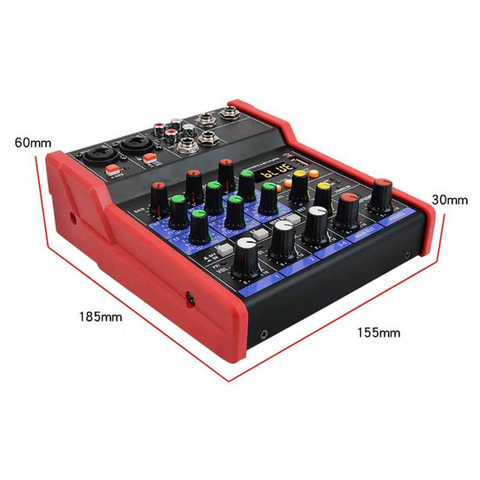 4 Channel USB Mixer