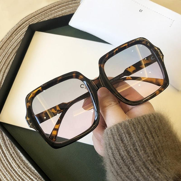 Leopard Print Oversized Sunglasses for Every Woman