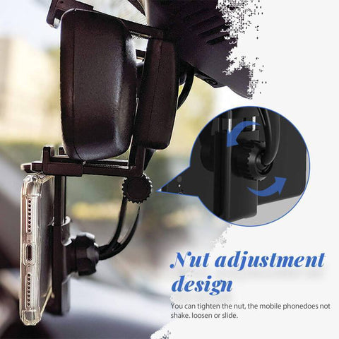 Rearview Mirror Phone Holder Car Rearview Mirror Phone Mount